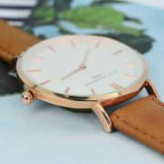 Vintage Personalised Leather Watch